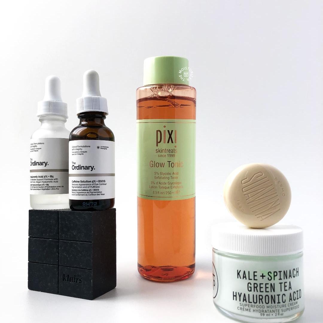 Night routine for oily skin