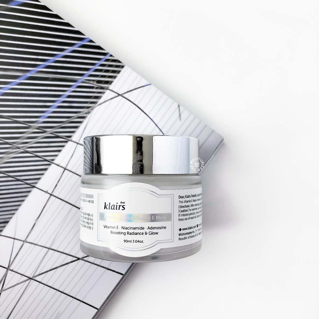 REVIEW: Klairs Freshly Juiced Vitamin E Mask