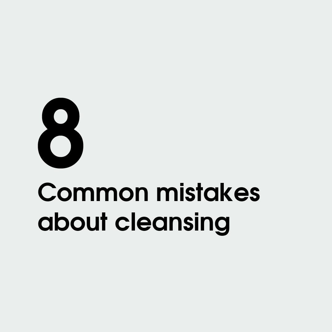 Errores comunes limpieza