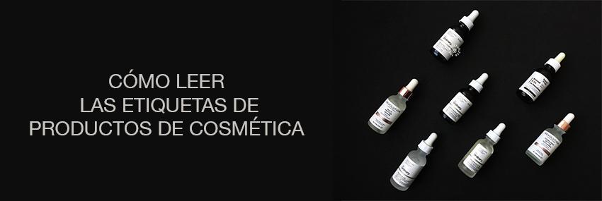 Cabecera: The Moisturizer - Cómo leer las etiquetas de los productos de cosmética