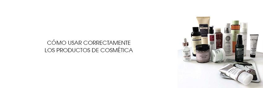 Cabecera The Moisturizer - Cómo usar correctamente los productos de cosmética