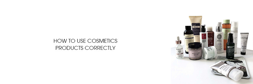 Header The Moisturizer - How to use cosmetics products correctly