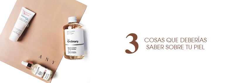 Cabecera The Moisturizer - Tres cosas que deberías saber sobre tu piel