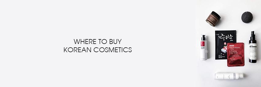 Header The Moisturizer - GUIDE: Where to buy Korean cosmetics