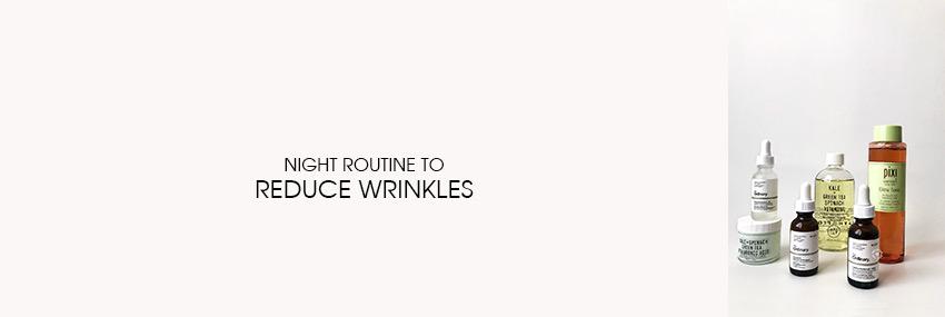 Header The Moisturizer - Night routine to reduce wrinkles