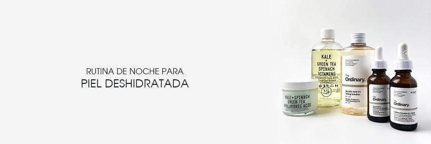 Cabecera The Moisturizer - Rutina de noche para piel deshidratada