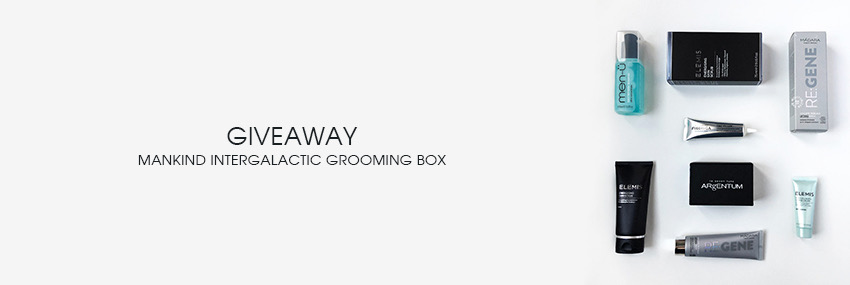 Header The Moisturizer - GIVEAWAY: Mankind Intergalactic Grooming Box