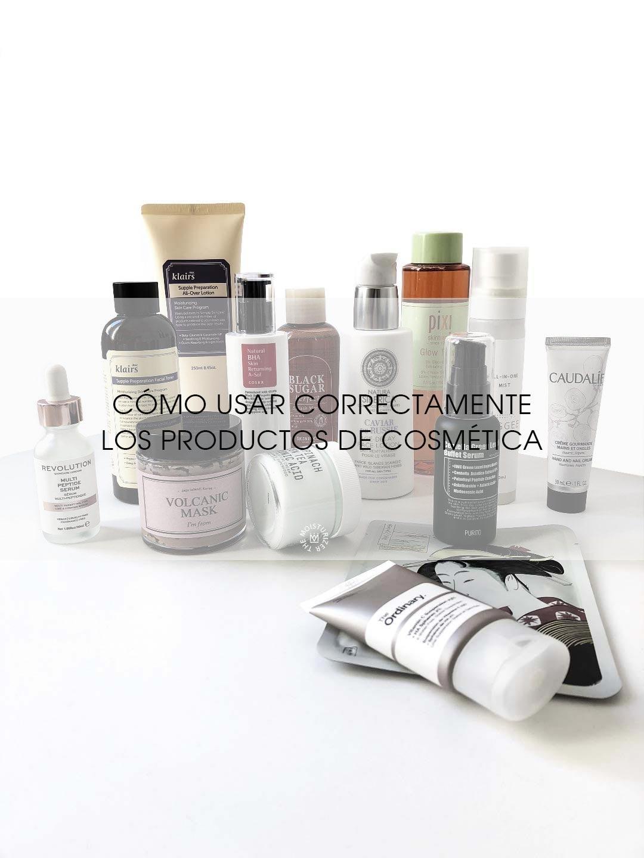 The Moisturizer - Cómo usar correctamente los productos de cosmética