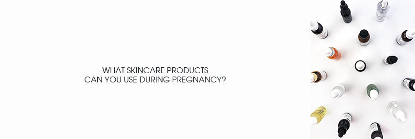 Header The Moisturizer - What skincare products can you use during pregnancy?