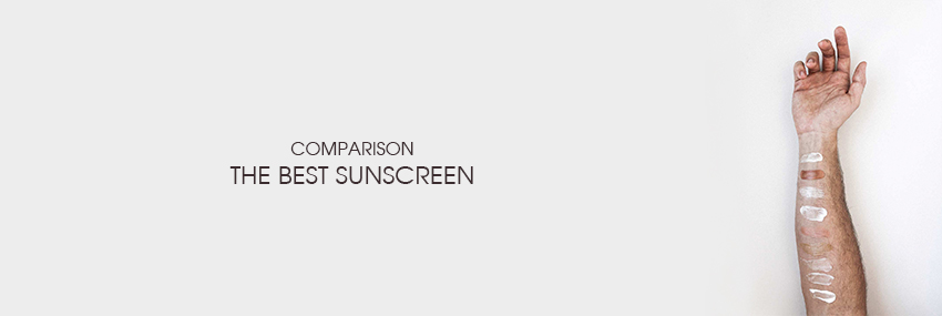Header The Moisturizer - COMPARISON: The best sunscreen