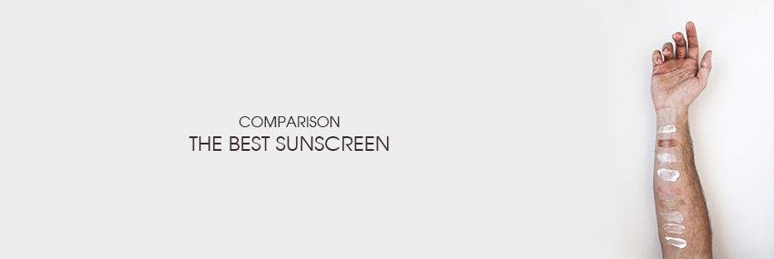 Header The Moisturizer - COMPARISON: The best sunscreen