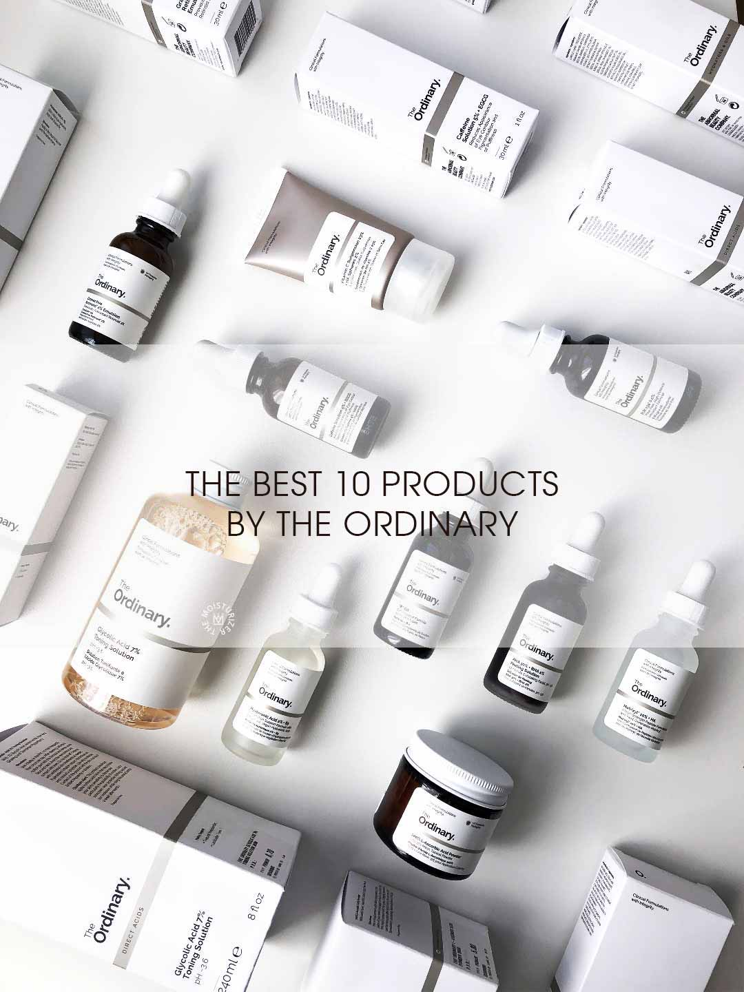 The Moisturizer - COMPARISON: The best 10 products by The Ordinary