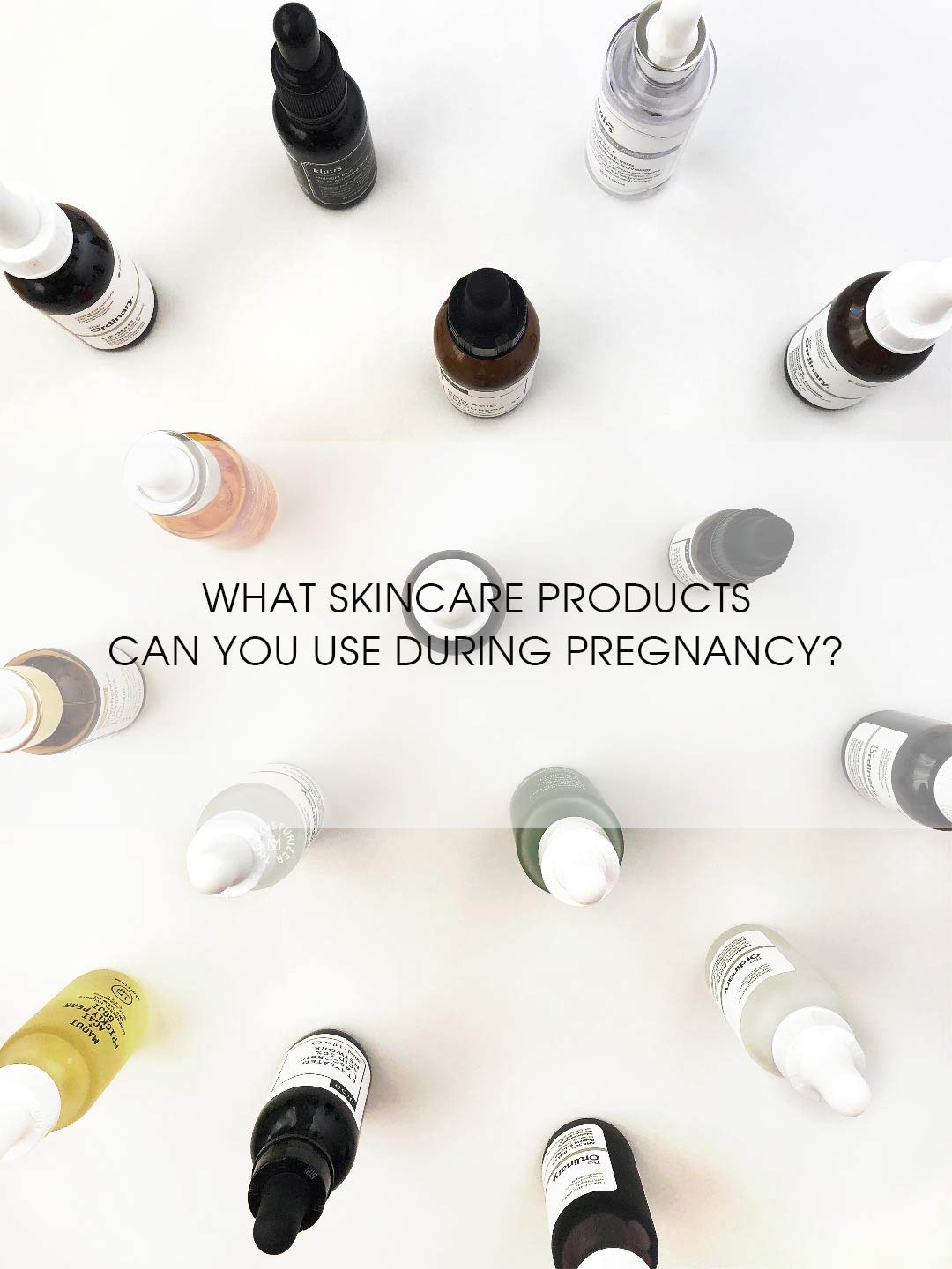 The Moisturizer - What skincare products can you use during pregnancy