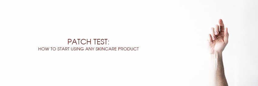 Header The Moisturizer - Patch test: how to start using any skincare product