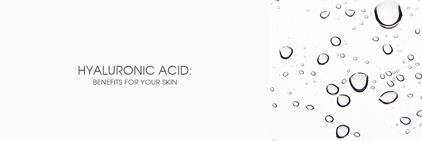Header The Moisturizer - Hyaluronic acid: benefits for your skin