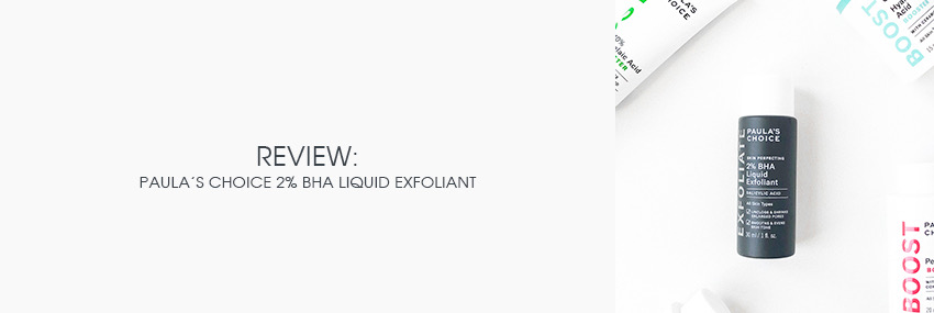 Cabecera The Moisturizer - REVIEW: Paula's Choice Skin Perfecting 2% BHA Liquid Exfoliant