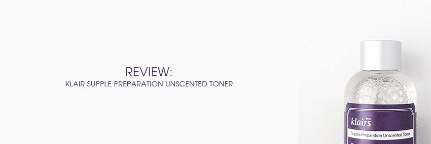 Cabecera The Moisturizer - REVIEW: Klairs Supple Preparation Unscented Toner